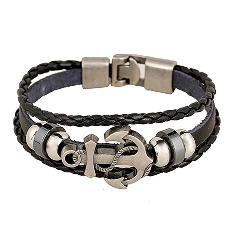 Stylisches Armband mit Anker Applikation