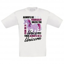 Kinder T-Shirt Modell: Always be yourself
