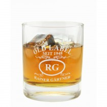 "Whiskyglas mit Gravur ""Emblem Old Label"""